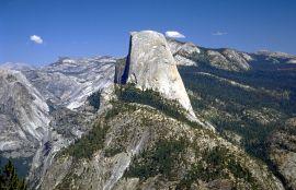Half Dome in Yosemite National Park. Photo by Rainer Hübenthal. Wikimedia
