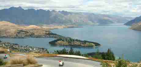 Anyone can try the Luge with stunning vistas above Queenstown