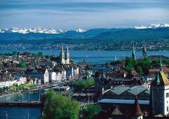 Zürich. MadGeographer. Wikimedia.