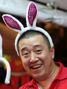 If you happen to be in Chinatown on Lunar New Year and you see this guy, take his picture.